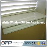 Elegante enfeite de janela de mármore branco para cozinha / banheiro / janela de sala de estar