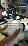 La PU sujeta con cinta adhesiva la máquina 1800W del lacre de la costura del aire caliente