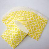 Мешки Eco-Friendly Striped зеленого цветка бумажные для партии