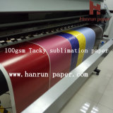 "64 "" 100GSM High Speed 반대로 Ghost Tacky Sublimation Transfer Printing Paper"