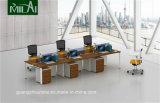 Qualitäts-Stahlbein-Büro-Arbeitsplatz, Büro-Möbel mit beweglichem Schrank
