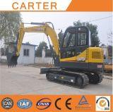 Excavador hidráulico de múltiples funciones de la retroexcavadora de CT60-8biii (6t)
