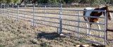 El panel galvanizado sumergido caliente de la cerca de las ovejas del hierro labrado, el panel de la cerca del ganado de la cerca de la granja, el panel de acero galvanizado sumergido caliente de la cerca