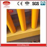 PVDF enduisant la frontière de sécurité jaune de glissière de sécurité de pipe/balustrade de garantie (Jh162)