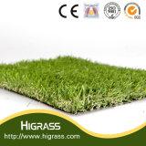 Pelouse artificielle multicolore professionnelle d'herbe de Higrass pour le jardin