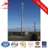 Pólo de serviço público de aço para a linha 220kv elétrica