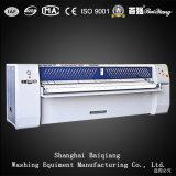 Máquina passando da única lavanderia industrial Fully-Automatic de Flatwork Ironer do rolo