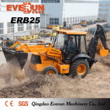 Fatto in Cina Erb25 Backhoe Loader con Rops&Fops Cabin
