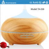 Diffuseur chaud d'huile essentielle de vente de diffuseur en bois léger des graines