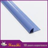 Guarnição plástica da borda da telha cerâmica do PVC do perfil