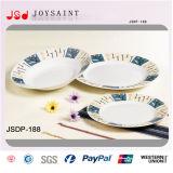Комплекты тарелки Китая косточки изделий гостиницы фарфора украшения новые