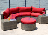 sofá Semi circular do estilo do jardim do balcão do pátio by-441