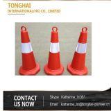 Cone do plástico do cone do PVC do cone tráfego do cone de borracha 28 do tráfego do ''