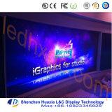 Pannello di pubblicità dell'interno dello schermo di visualizzazione del LED della fase P4