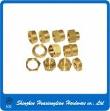 Standard und Customized Types Hex Round Brass Nut