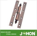 鋼鉄または鉄のドアの金属Hのヒンジ(140X55mmの家具のハードウェア)