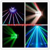 luz decorativa de la luz LED del punto del partido de 2PCS RGBW LED