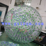 Doble de TPU para adultos de agua inflable pausado Bola de Olas