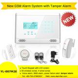 Alarme sèche sans fil de GM/M de butoir de loup du système d'alarme Yl-007m2e de garantie de garantie de GM/M