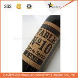 Fine Customized Label Printing Paper Service Wine Logo Bottle Stickers