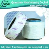 Super papel de liberación de silicona para materias primas de higiene con SGS