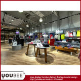 Muebles de la visualización del departamento de la ropa de deportes, visualización de la venta al por menor del desgaste de los deportes