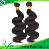 7A natural brasileño de la Virgen de la onda del pelo extensión del pelo humano
