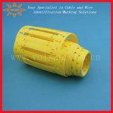Etiquetas resistentes de la etiqueta de plástico del cable del petróleo de alta temperatura militar del grado