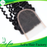 100%の自然なねじれた巻き毛の人間の毛髪の拡張またはブラジルのバージンの毛の拡張または人間の毛髪