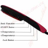 Enderezadora auto del pelo del control de la temperatura
