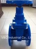 Soupape à vanne Non-En hausse de la cheminée DIN3352