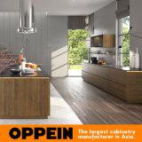 목제 멜라민 부엌 찬장 (OP16-PVC01) 선 같이 Oppein 현대 자연적인 우아한