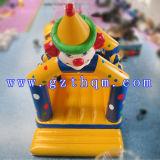 Кровать скачки замока детей клоуна раздувная/симпатичный коммерчески раздувной замок хвастуна для взрослого