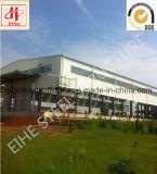 Entrepôt en acier de ventes chaudes vers l'Afrique de l'Est
