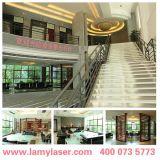Lamy 500W Laser-Ausschnitt-Maschine für Metallblatt