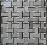 Natürliche Marmorsteinmosaik-Fliese (FYSSC146)