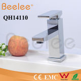 Feste Brass Chromed Square Single Handle Plattform Mount Hot und Cold Basin Faucet