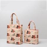 Dois tamanhos picam os sacos de compra bonitos do lazer do Zipper dos desenhos animados da vaquinha (CK003-4)