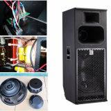 長い投球のタイプ屋外のスピーカーボックス\プロ可聴周波拡声器\ DJ装置