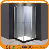 Tela de chuveiro de vidro do banheiro popular luxuoso (ADL-8A62)