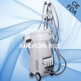 Ventre de Cavitation+Vacuum Liposuction+Bipolar RF+Roller amincissant le ce de machine de beauté