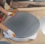 hoja redonda de aluminio