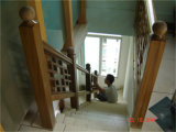 Balustrade facultative populaire d'escalier en bois 2016 solide