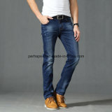 Atacado Summer Men Calças compridas Csutom Straight Stretch Jeans