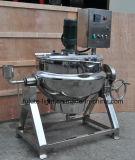 Bouilloire à cuire industrielle de chauffage électrique d'acier inoxydable