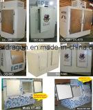 Openlucht Merchandiser van het Ijs voor de Opslag van het Ijs 750kgs