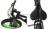 Bicicleta eléctrica de la playa de la nieve del neumático grande de la potencia 500W 4.0