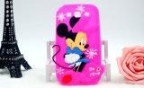 Het Geval van de Telefoon van het Silicone van Minnie van het beeldverhaal J5 J7 voor iPhone 6 plus Mobiele Toebehoren (xsd-015)