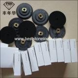 """Vh-7-125 metal de borracha de pedra 5 flexíveis """" almofada de moedura do revestimento protetor do assoalho"""