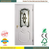 PVC-Badezimmer-Tür PVC-Glastür Innen-PVC-Tür